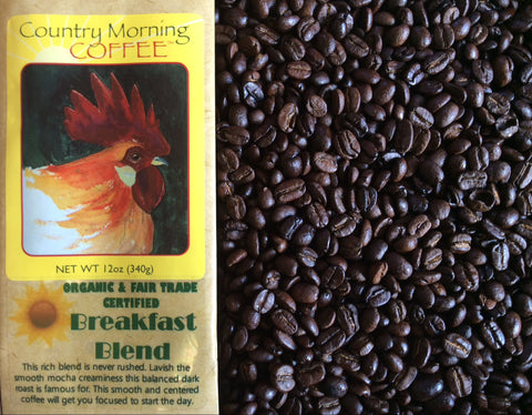 Organic and Fair Trade Certified Coffee