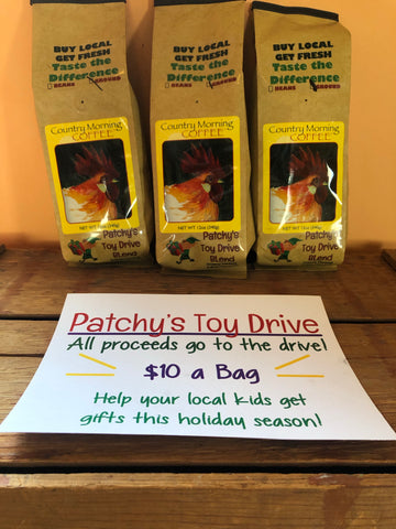 Patchy's Toy Drive Fundraiser