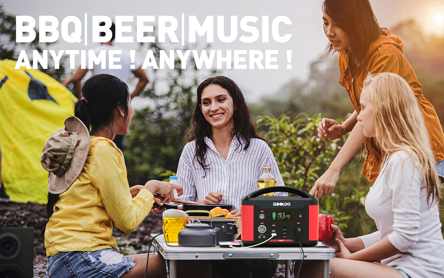 BBQ BEER MUSIC power supply