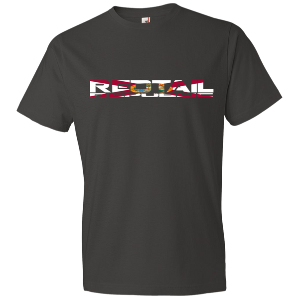 Redtail Republic Men's Floridian Logo Lightweight T-Shirt 4.5 oz
