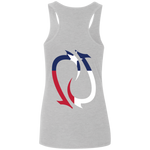 Redtail Republic Texana Hooks Ladies' Softstyle Racerback Tank