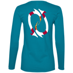 Redtail Republic Floridian Hooks Ladies' Lightweight LS T-Shirt