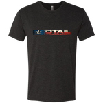 Redtail Republic Men's  Texana Logo Tri Blend Next Level Triblend T-Shirt