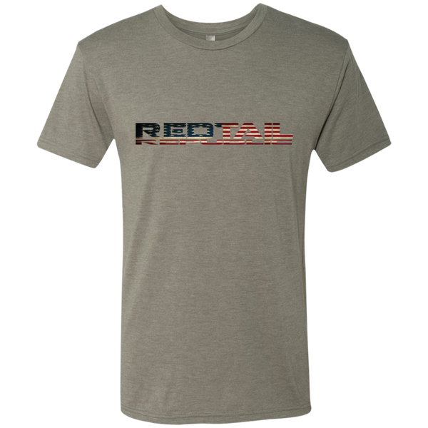 Redtail Republic Men's Americana Logo Next Level Men's Triblend T-Shirt