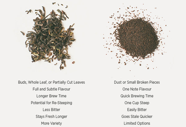 Loose tea vs tea bags