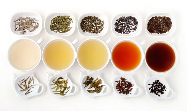 The Different Types Of Tea Bruu The Gourmet Subscription Tea Club