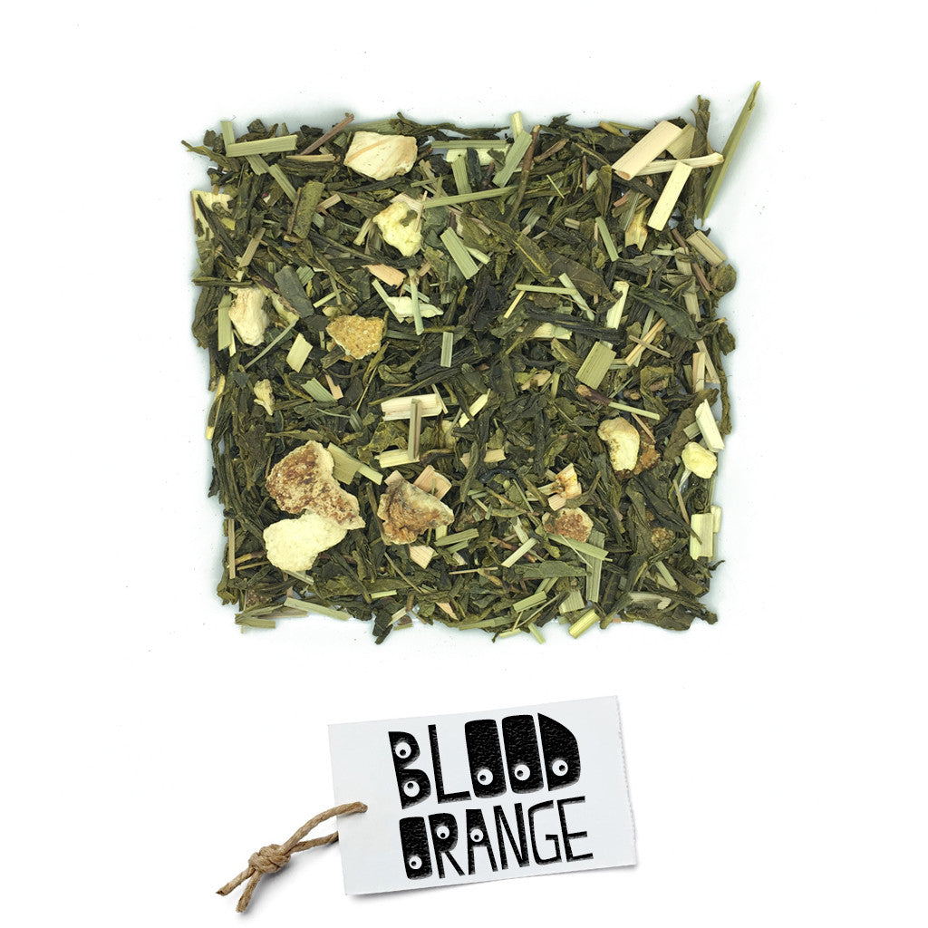 BRUU - The Gourmet Subscription Tea Club - Blood Orange Green -