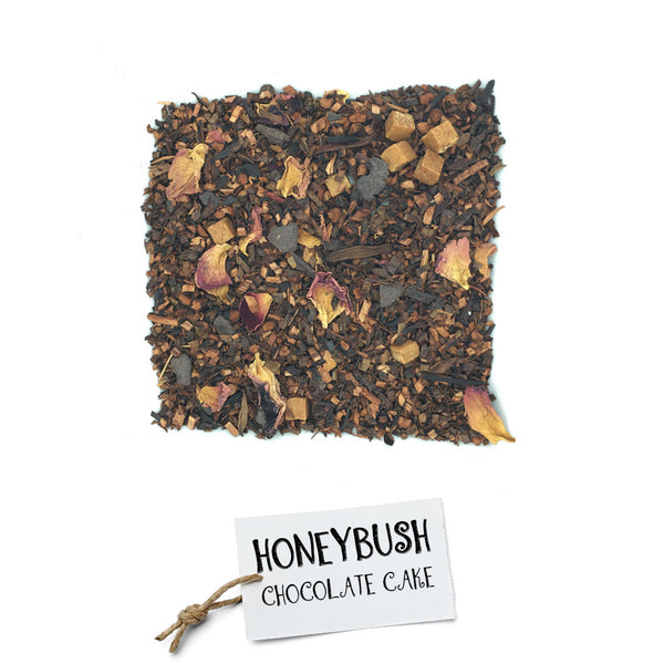 BRUU - The Gourmet Subscription Tea Club - Honey Bush Chocolate Cake -