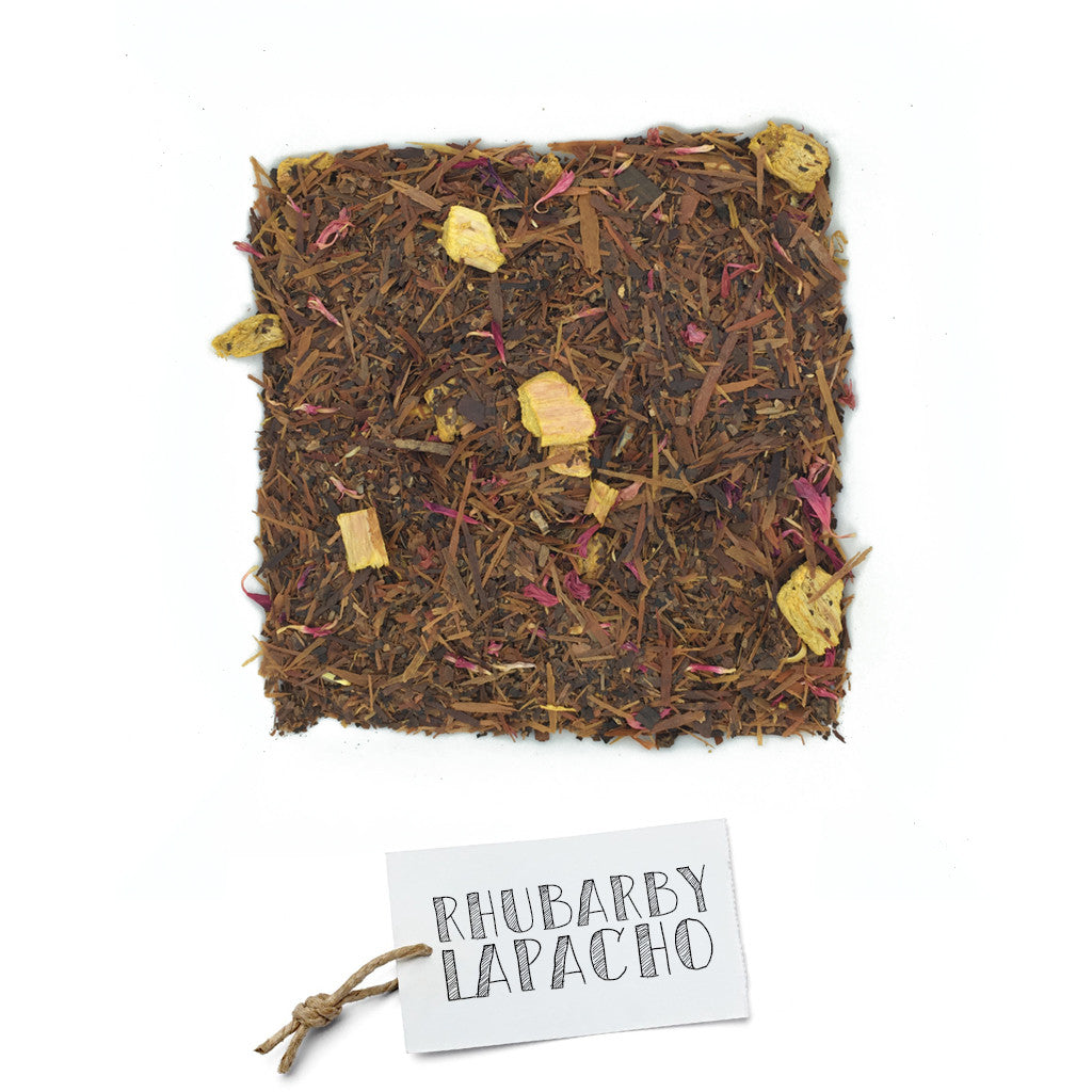 BRUU - The Gourmet Subscription Tea Club - Rhubarby Lapacho -