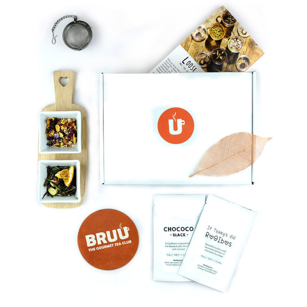 BRUU - The Gourmet Subscription Tea Club - Tea Selection Box -