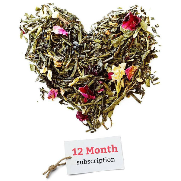 BRUU - The Gourmet Subscription Tea Club - 12 Month Tea Club Gift Voucher -  No tea infuser - 1