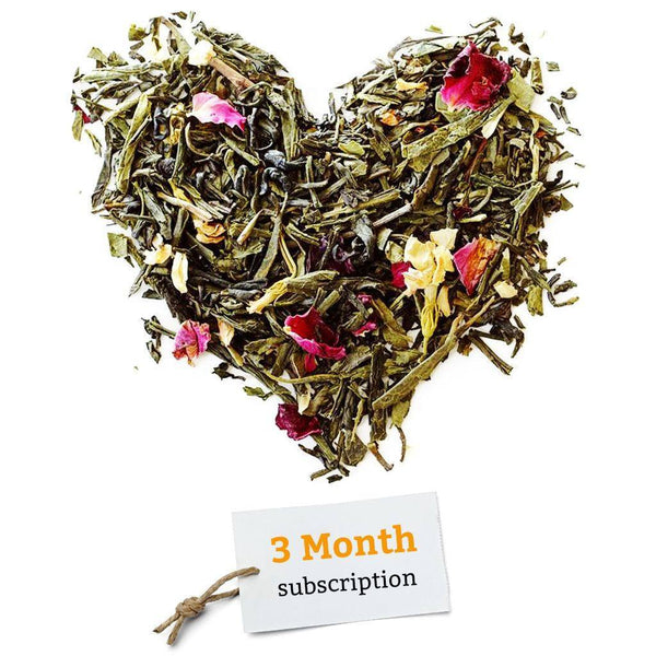 BRUU - The Gourmet Subscription Tea Club - 3 Month Tea Club Gift Voucher -  No tea infuser - 1