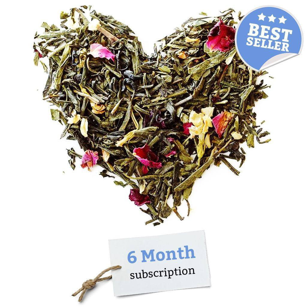 BRUU - The Gourmet Subscription Tea Club - 6 Month Tea Club Gift Voucher -  No tea infuser - 1
