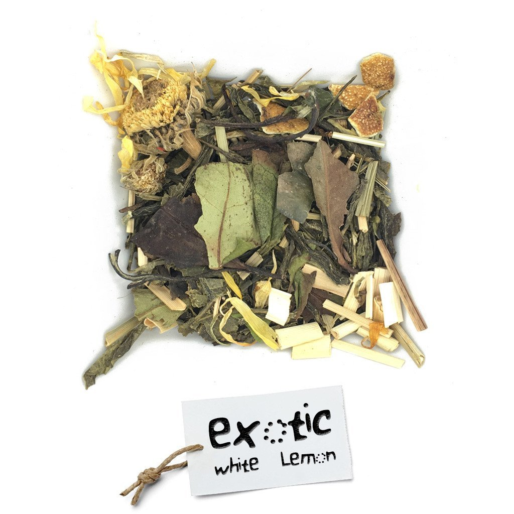 BRUU - The Gourmet Subscription Tea Club - Exotic White Lemon -