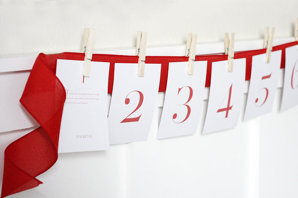 Advent Calendar: Printable