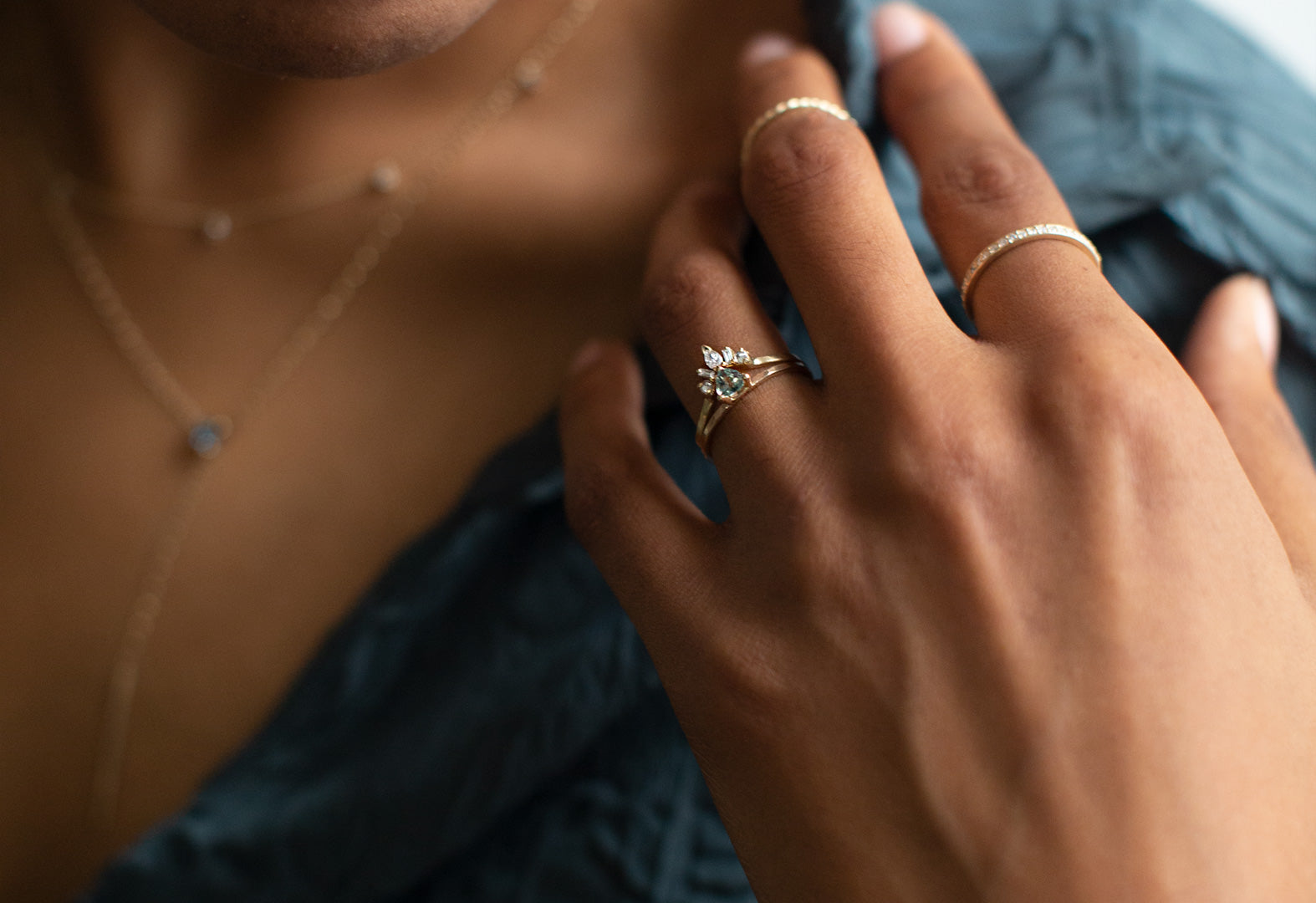 Fine Jewelry Items Feature Montana Sapphires From Our Ethical Gemstone Collection