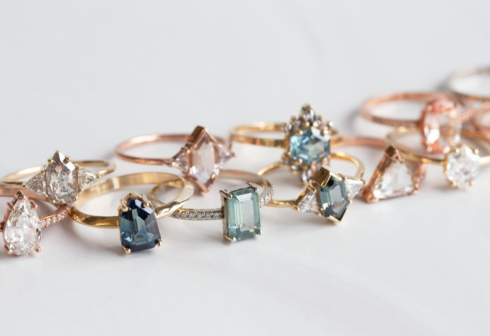 In-Stock Engagement Rings Designed By Alexis Russell