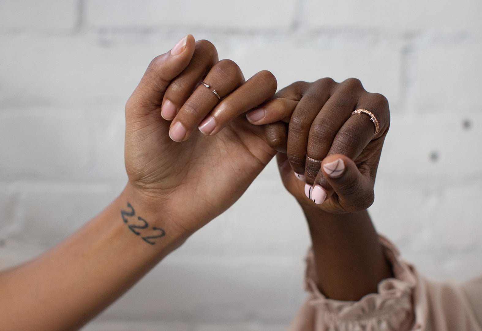 a pinky promise to a lasting love