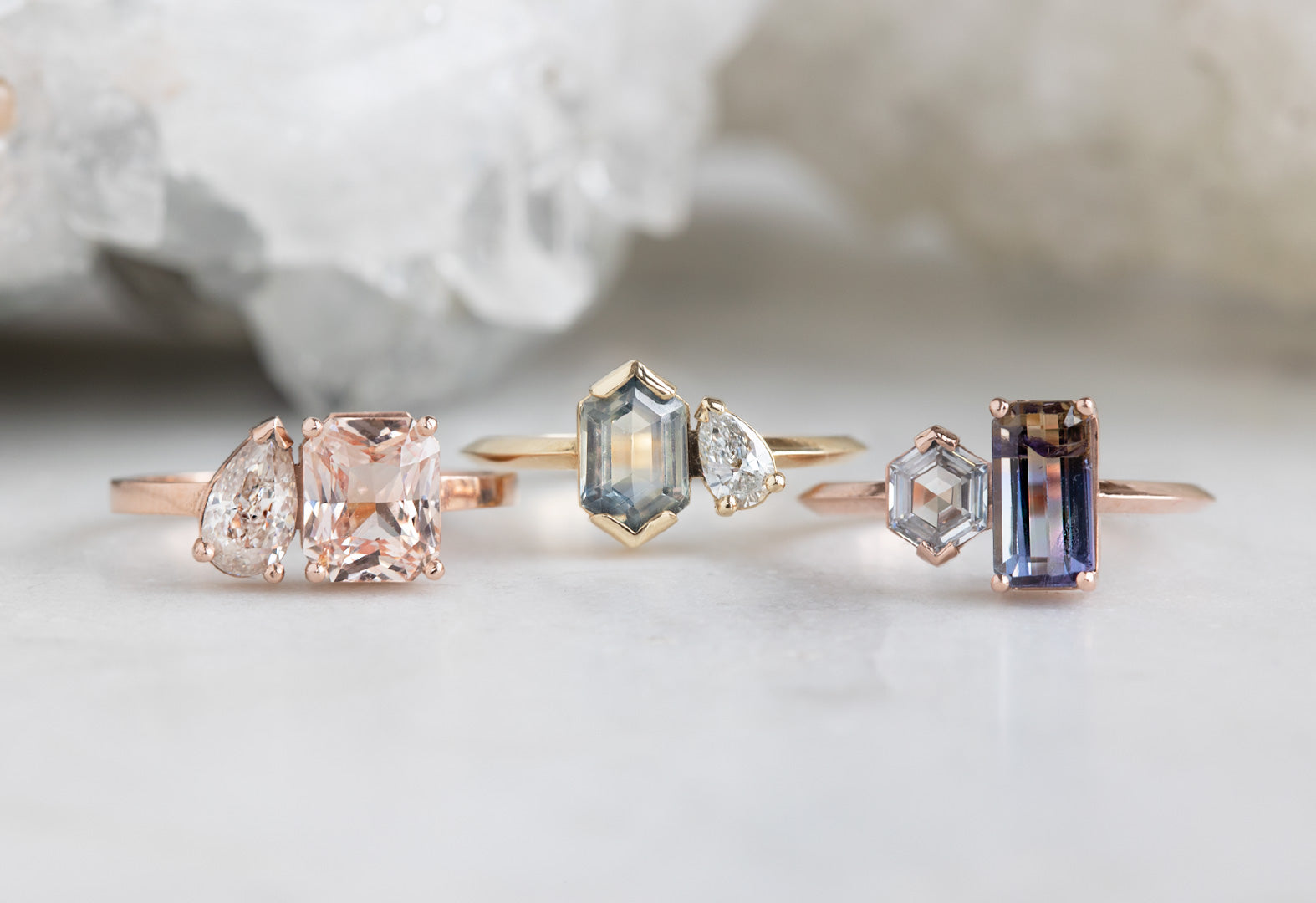 The 'You & Me' Engagement Rings