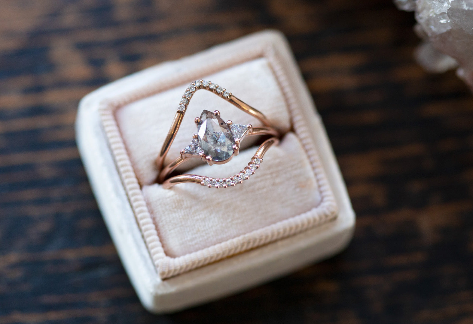 a incredibly special, one of a kind diamond engagement ring