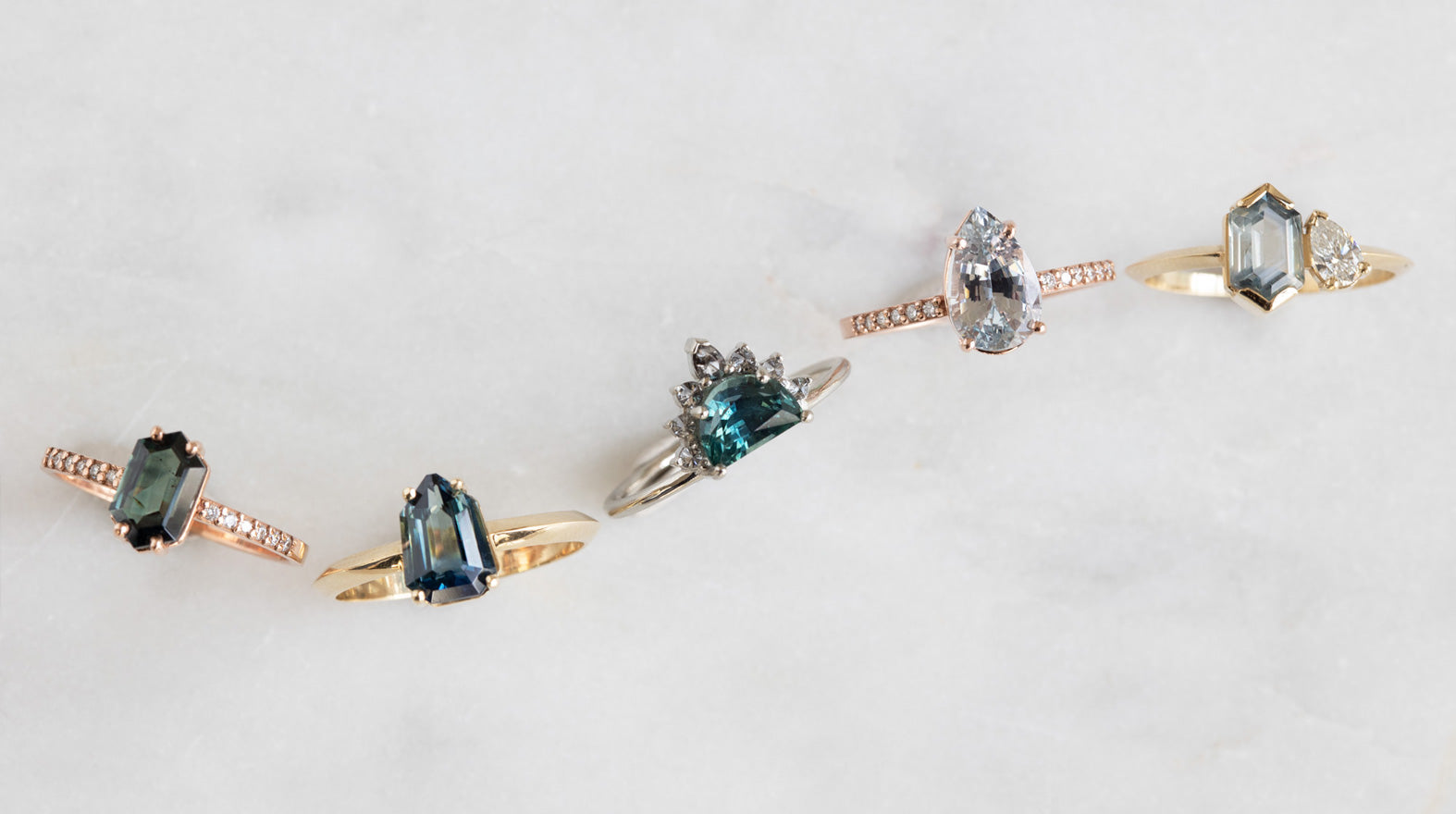 Our Favorite Montana Sapphire Engagement Rings Perfect For The Modern Bride.