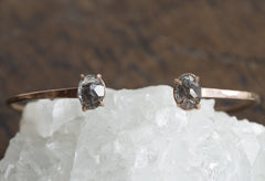 Tourmaline in Quartz Cuff Bracelet