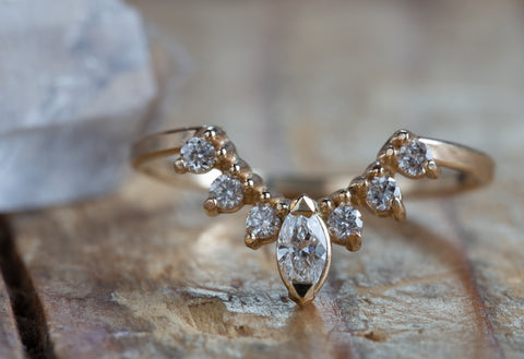 Engagement Ring Vs Wedding Ring.Wedding Bands Alexis Russell
