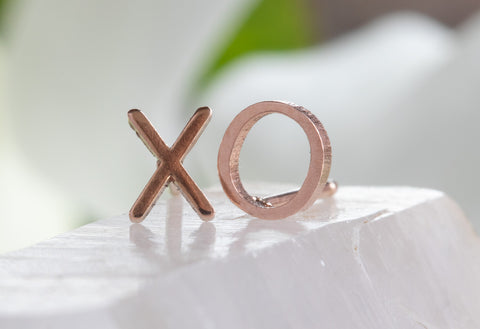 'XO' Stud Earrings