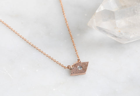 Geometric Stardust Necklace