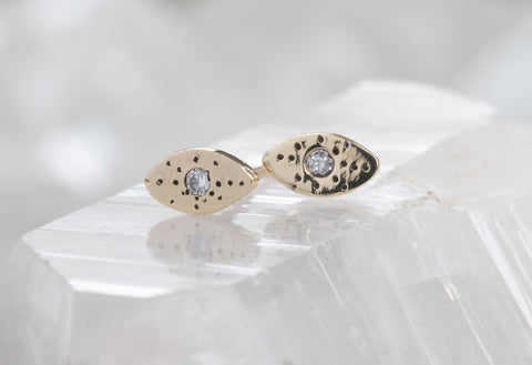 Marquise Stardust Stud Earrings