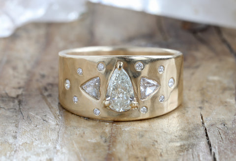 One of a Kind Beloved Constellation Ring