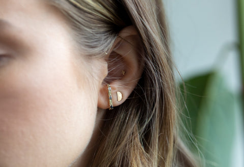 Ombré Diamond Ear Jacket