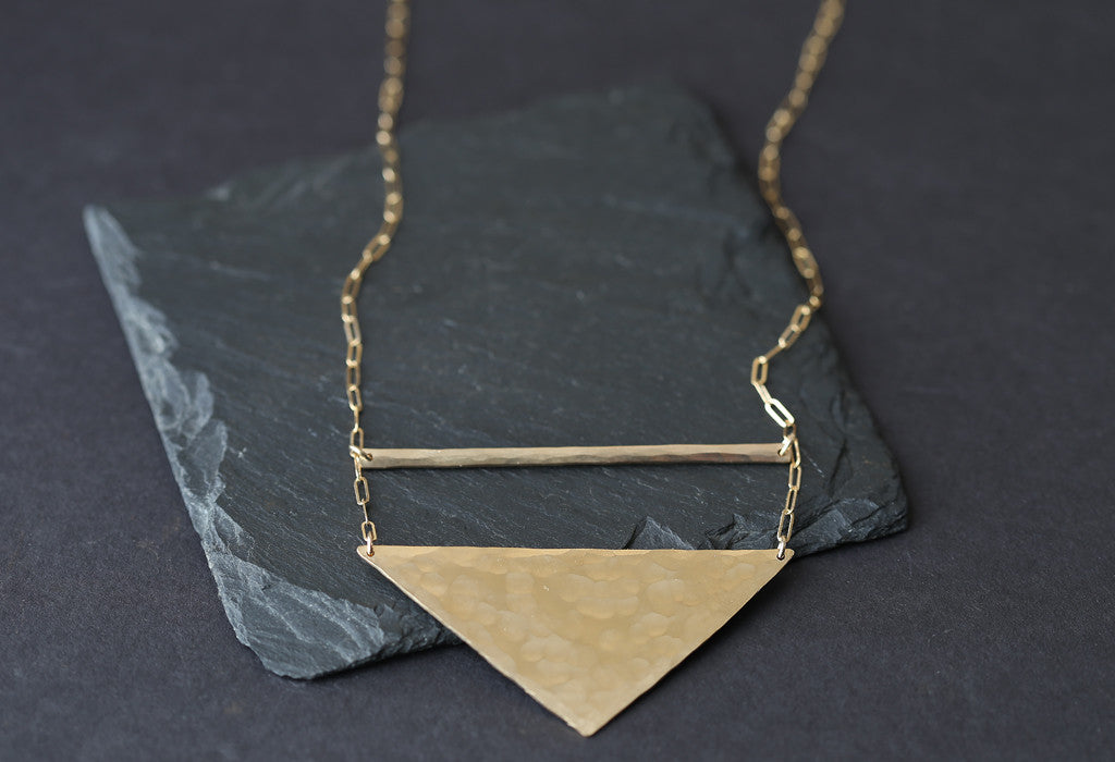Long Geo Necklace
