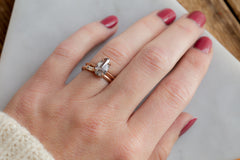 Baguette Diamond Line Ring