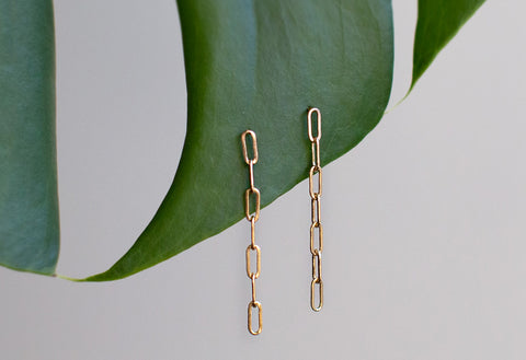 Cable Chain Earrings