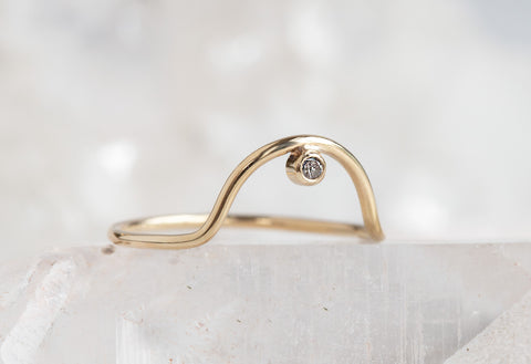 Arc Diamond Ring