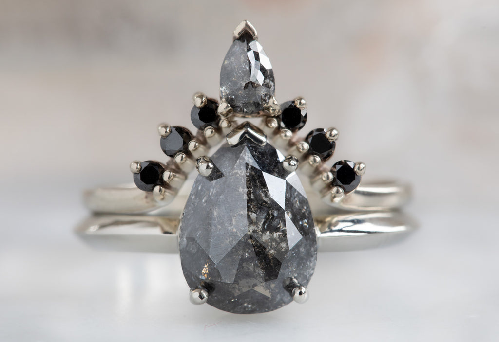 The Sage with a Rose Cut Black Diamond