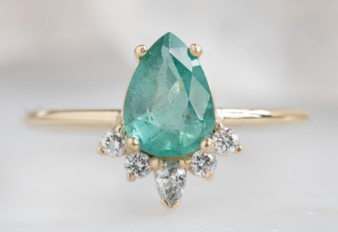Design Your Own Emerald Engagement Ring