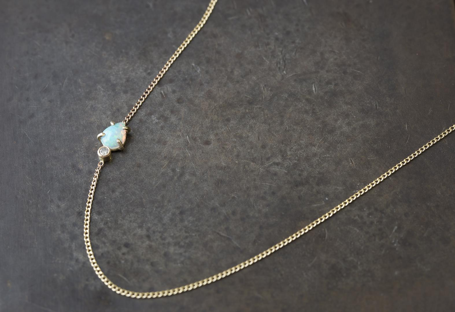 turquoise htm v gemma vp asymmetrical necklace redux shopbop