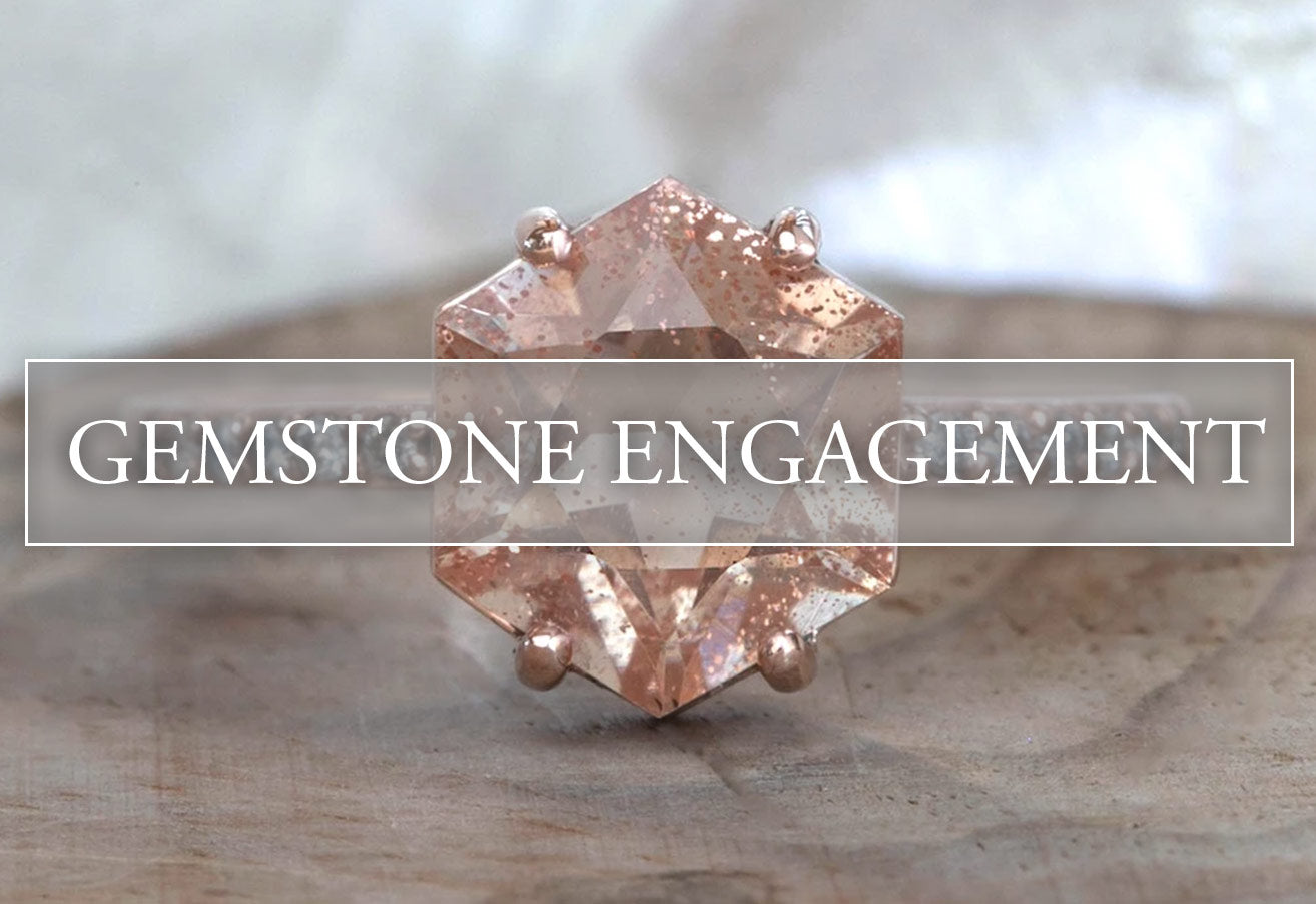 Gemstone Engagement Rings