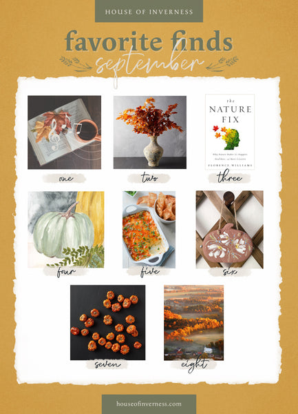 September Favorite Finds from House of Inverness
