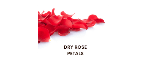 Can we eat dry rose petals