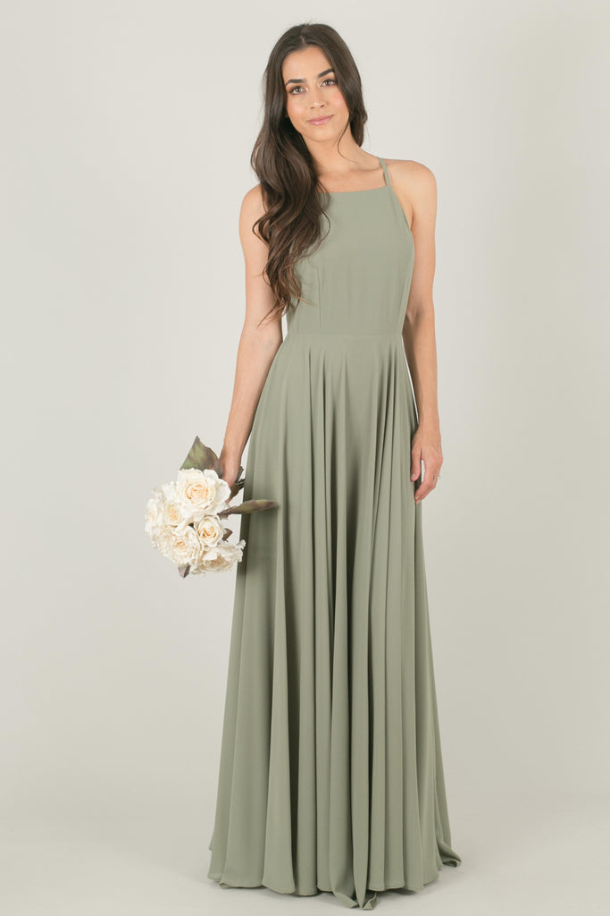 Payton Sage Flowy Maxi Dress