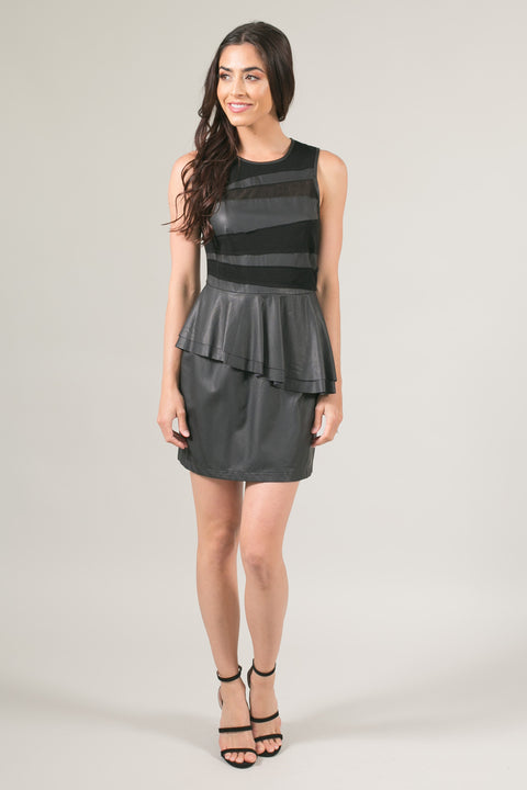 Sample Black Peplum Dress *Final Sale*