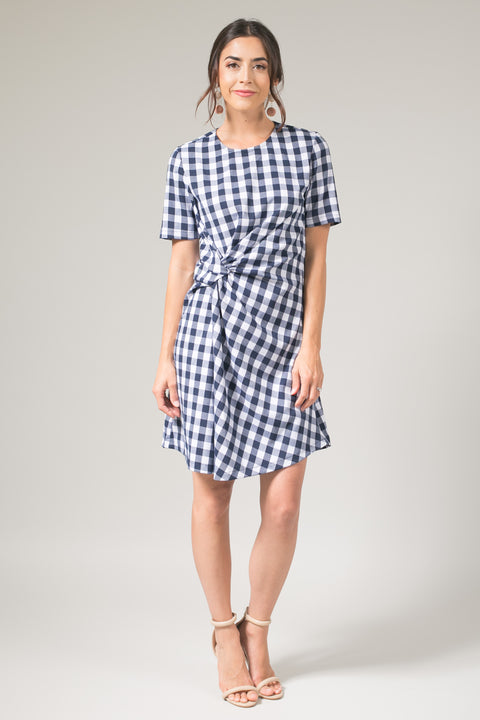 Sample Knot Shift Dress
