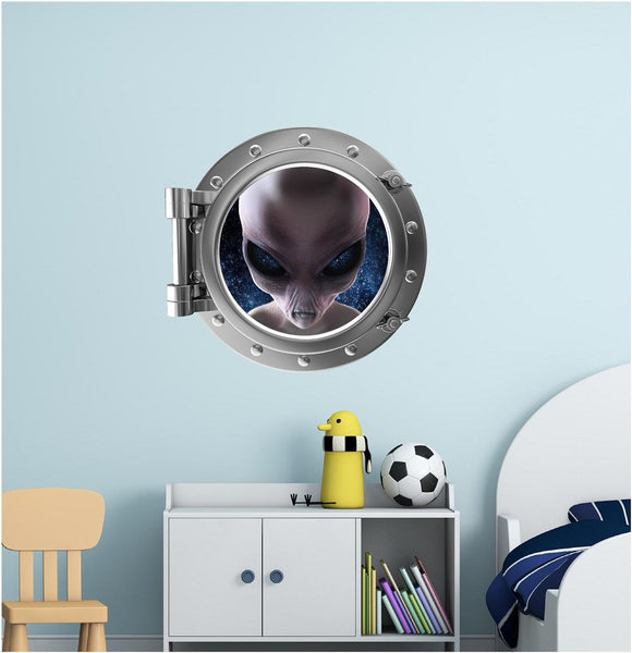 Portscape Alien 1 Wall Decal!