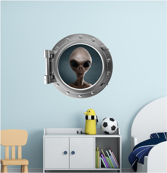 Portscape Alien 2 Wall Decal!