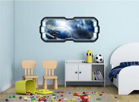 SpaceScape Alien Planets #1 Wall Decal!