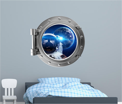 Portscape Astronaut Selfie 2 Wall Decal!