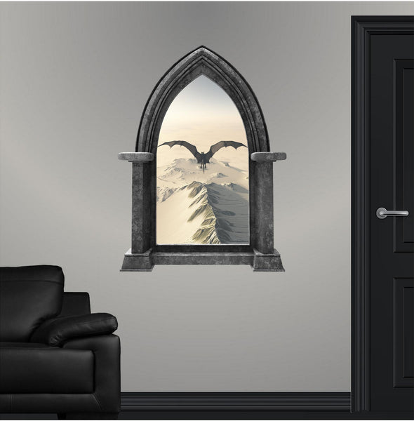 CastleScape: Black Dragon 2 Wall Decal!